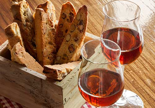 Food Biscotti & Wine