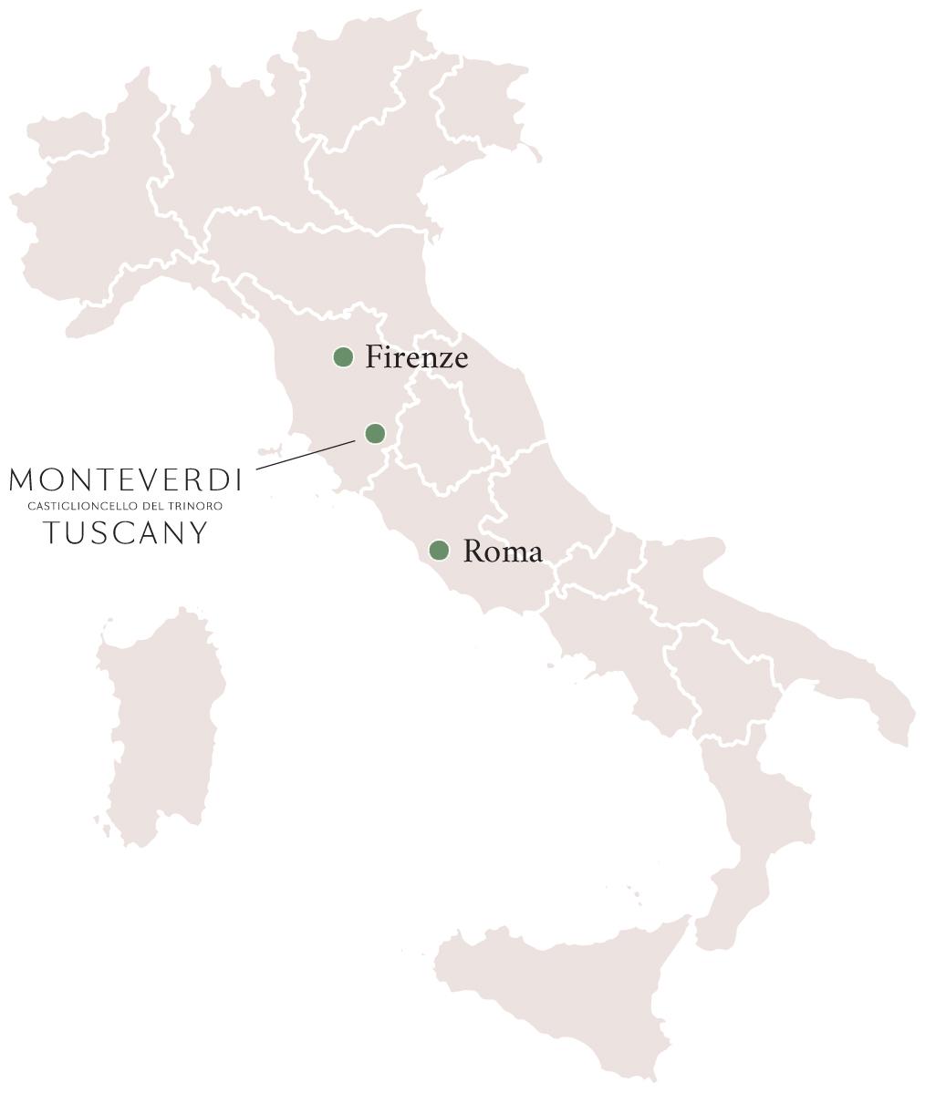 Monteverdi Tuscany, Italy