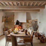 muri antichi dining room