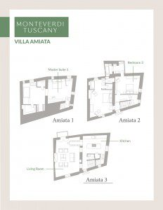 Click here to view the floor plan for Villa Amiata